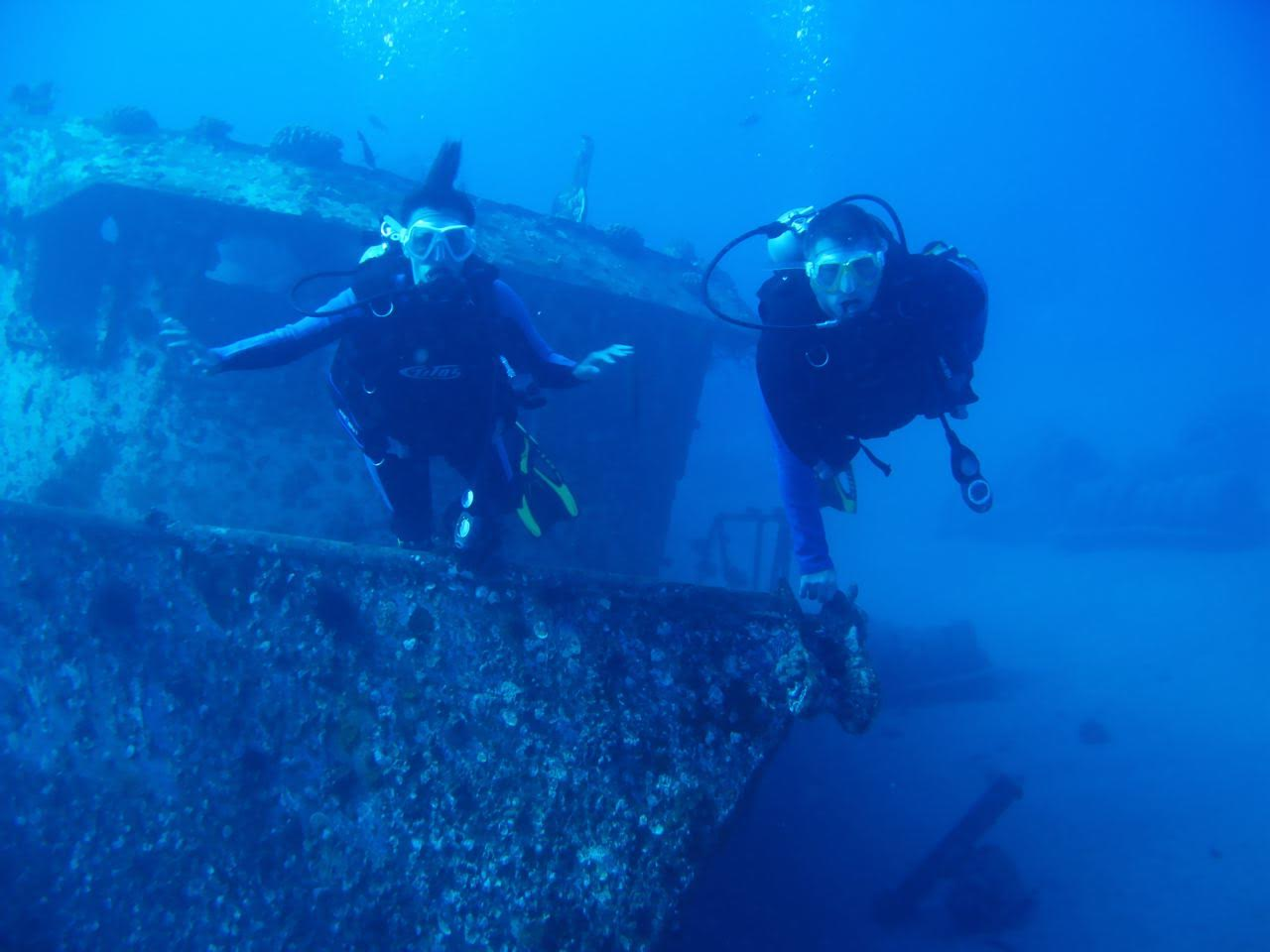 St. Anthony's Wreck – Divers